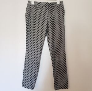 Dalia Black and White work slacks